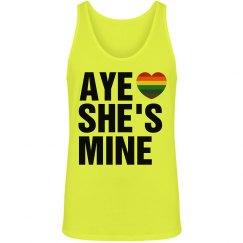 Aye She's Mine Gay Pride