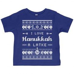 I Love Hanukkah Toddler