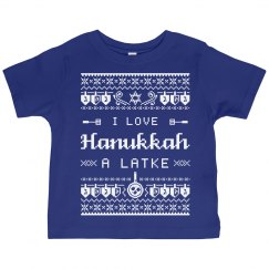 I Love Hanukkah Toddler