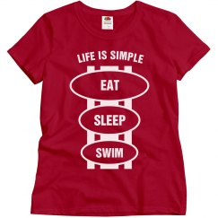 Eat sleep swim