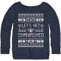 Hanukkah Party Sweater