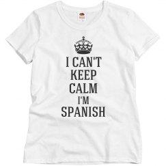 I'm Spanish