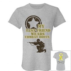 Best Friend Army Strong Short Sleeve