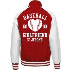 Baseball Girlfriend Fan
