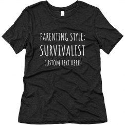 Funny Survivalist Mom Tee