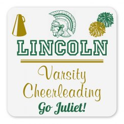Lincoln Varsity Cheerleading Magnet_Item30C-6