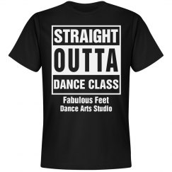 Straight out of dance class