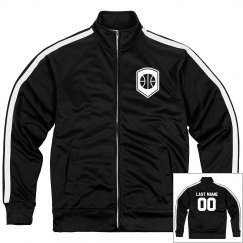 Custom Numbered Basketball Design Jacket