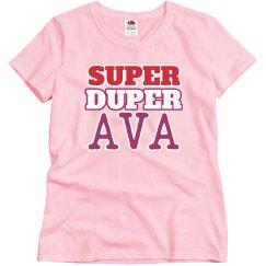 Super Duper Ava