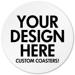 Personalize a Coaster
