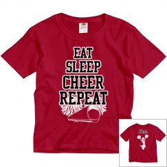 Eat sleep cheer repeat