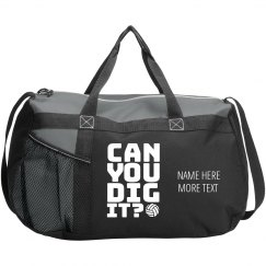 Dig It Volleyball Team Bag