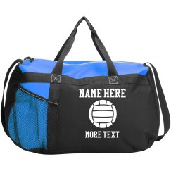 Custom Volleyball Player Name