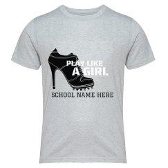 Play like a Girl Soccer Design