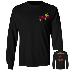 Inspire black IDPAC shirt