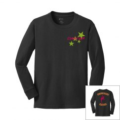 Inspire black DANCER shirt YOUTH