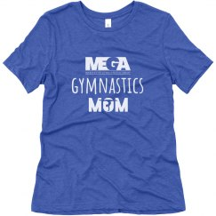 Gymnastics 'mom' Logo Tee