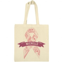 Pink Ribbon Bag
