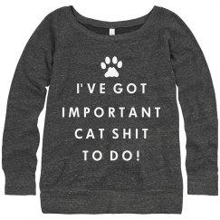 Important Cat Shit!