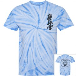Tie Dye Shirt with Kanji and Logo