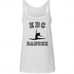 EDC White Dancer Relaxed Fit Tank
