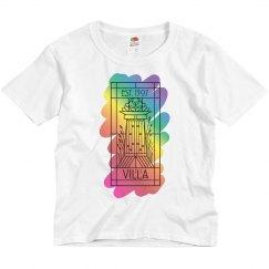 Kids Villa Rainbow Paint Tee