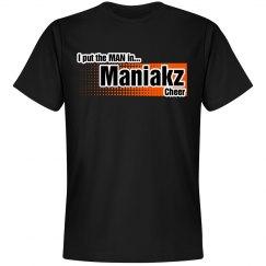 Maniakz block tee