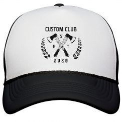 Custom Axe Throwing Club Hats