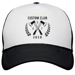 Custom Axe Throwing Club Hats