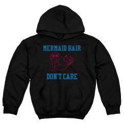Mermaid Hair, Don't care- Youth Hoodie