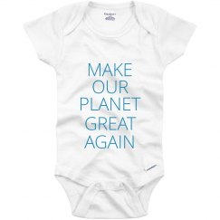 Babies Making Our Planet Great Again