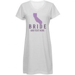 Cali Bride Honeymoon