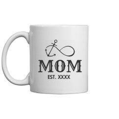 Custom Mothers Day Est. Nautical
