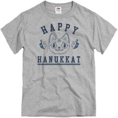 Happy Hanakkat Grey