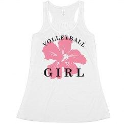 Beach Volleyball Girl