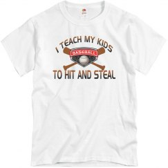 Funny Baseball Parents Shirt