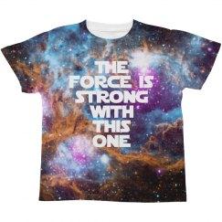 Jedi Galaxy Space Print For Kids
