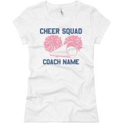 Cheer Coach Tee