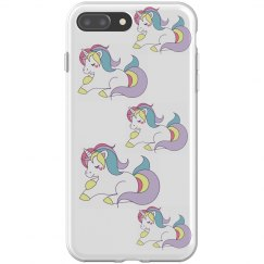 unicorn iphone 8 plus flexi case