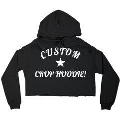 Custom Crop Hoodie Designs
