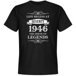 Life begins at seventy