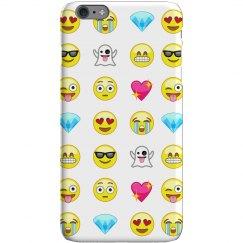 Emoji Print iPhone Case