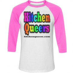 KQ Pink Logo Shirt