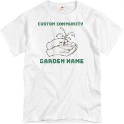 Add Your Garden Logo Tee