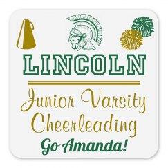 Lincoln Junior Varsity Cheerleading Magnet_Item50C-8