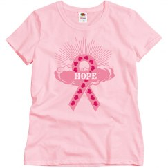 Pink Ribbon Of Hope T-Shirt