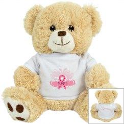 Pink Ribbon Of Hope Bear
