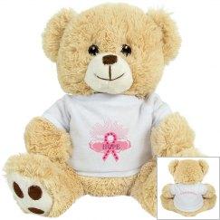 Pink Ribbon Of Hope Tiger