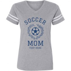 Custom Cute Soccer Mom