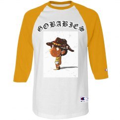 GOBABIES CHAMPION DISTRESS TEE